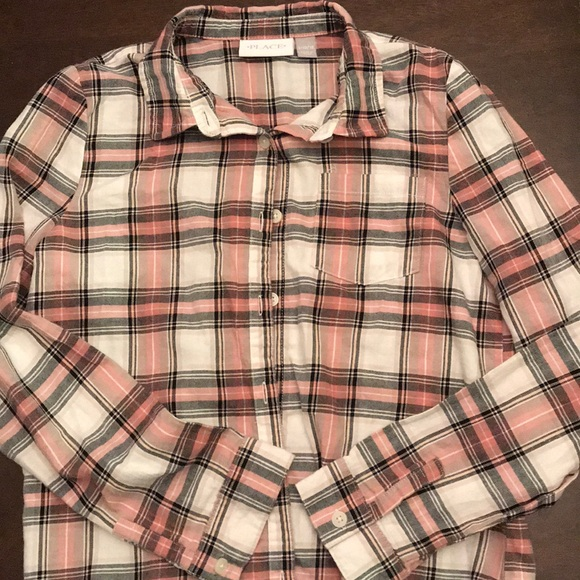 Children's Place Other - Button up shirt